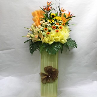 Standing Flower Arrangement