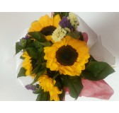 sunflowers valentine bouquet